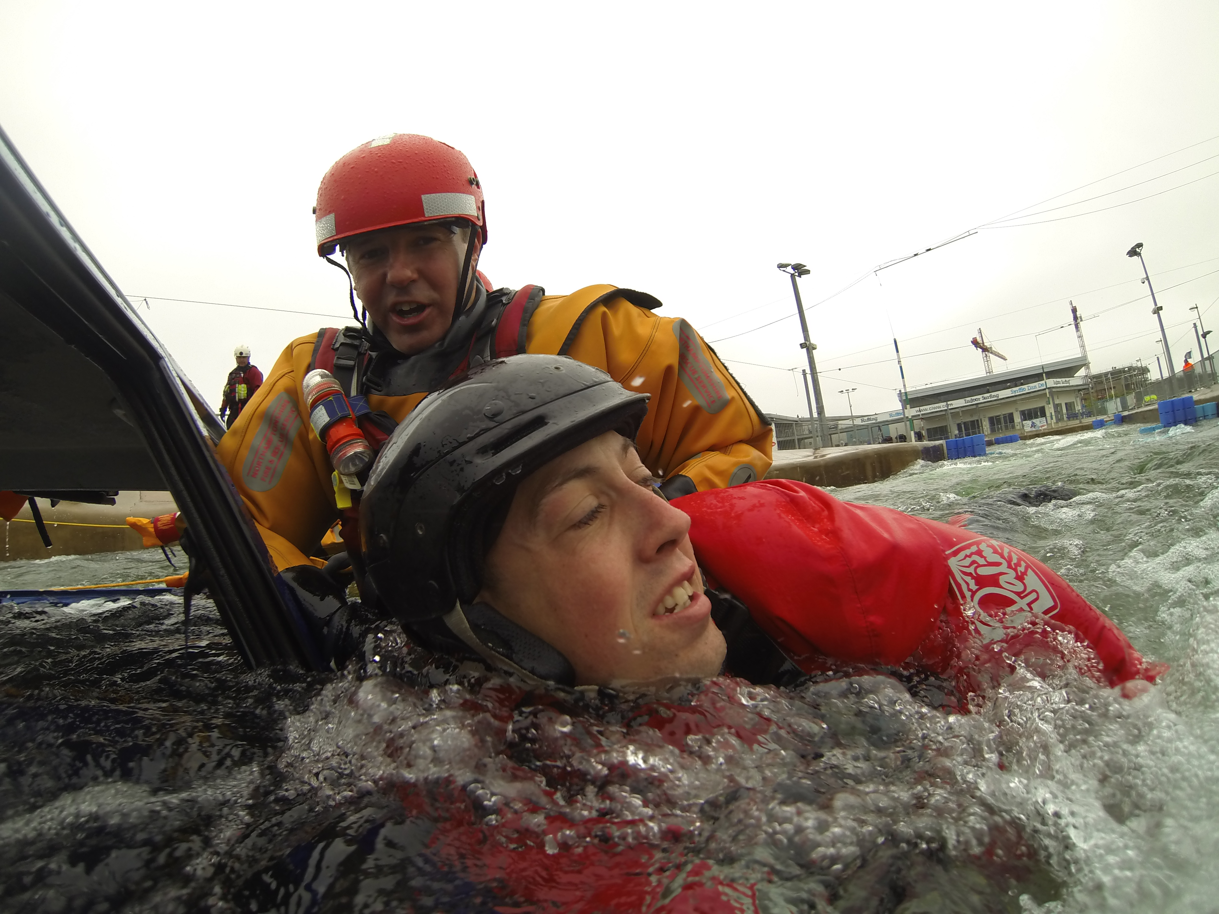 Rescues from Vehicles in Water - Technician