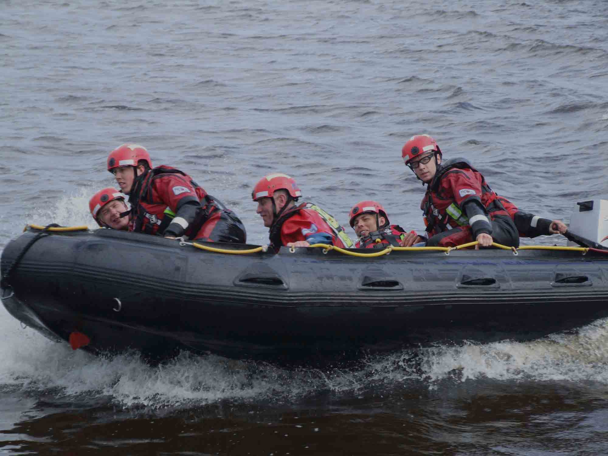 Swiftwater and Flood Rescue Boat Operator