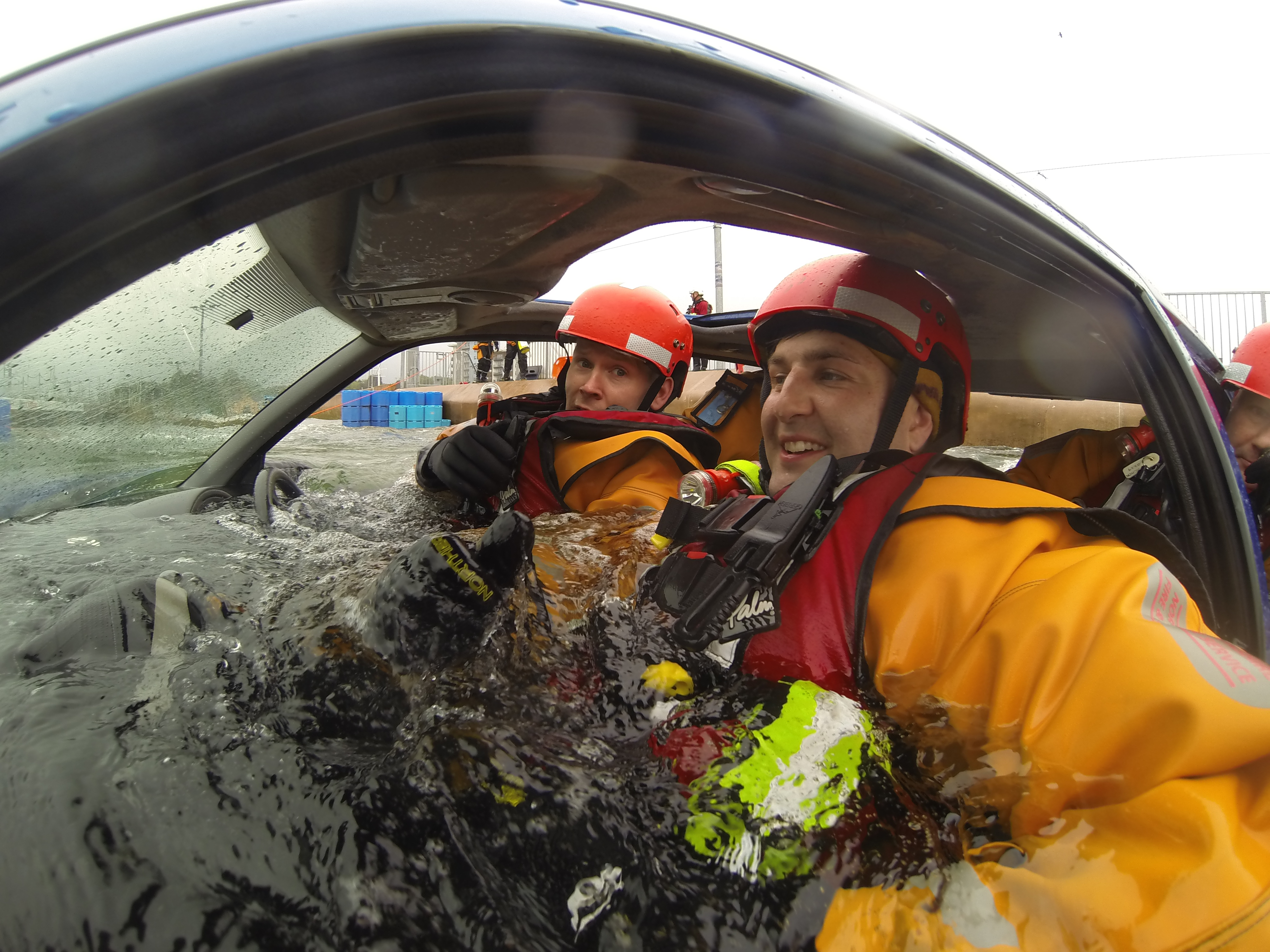 Rescues from Vehicles In Water First Responder
