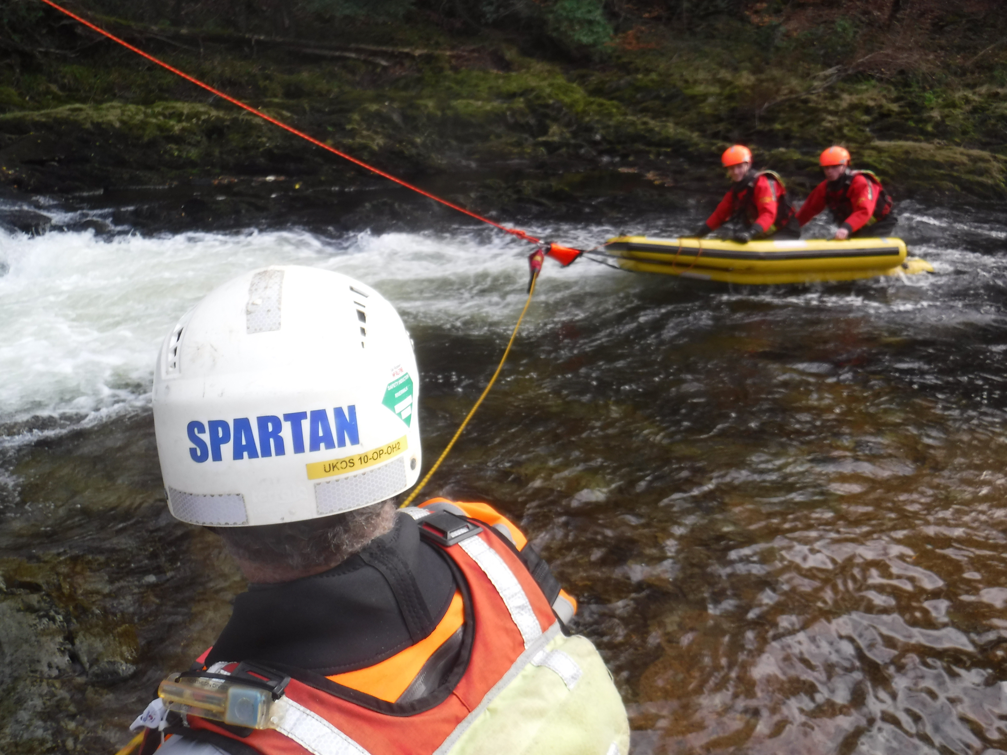 Swiftwater and Flood Rescue Technician - Advanced - Water