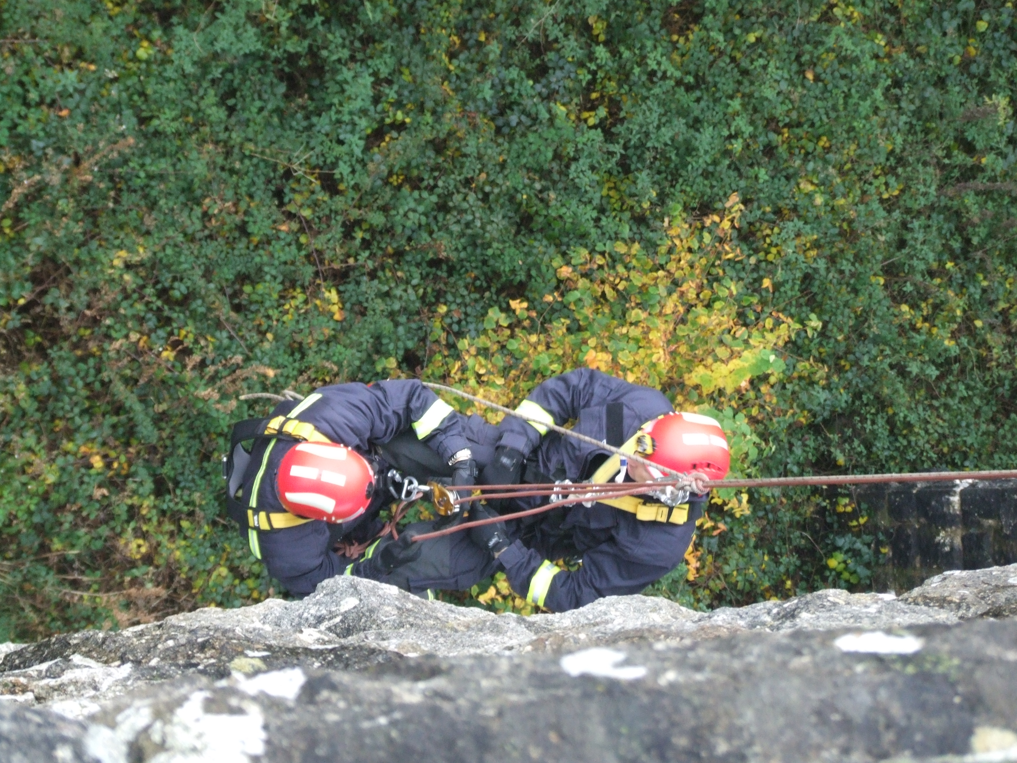 Rope Access for Emergency Responders