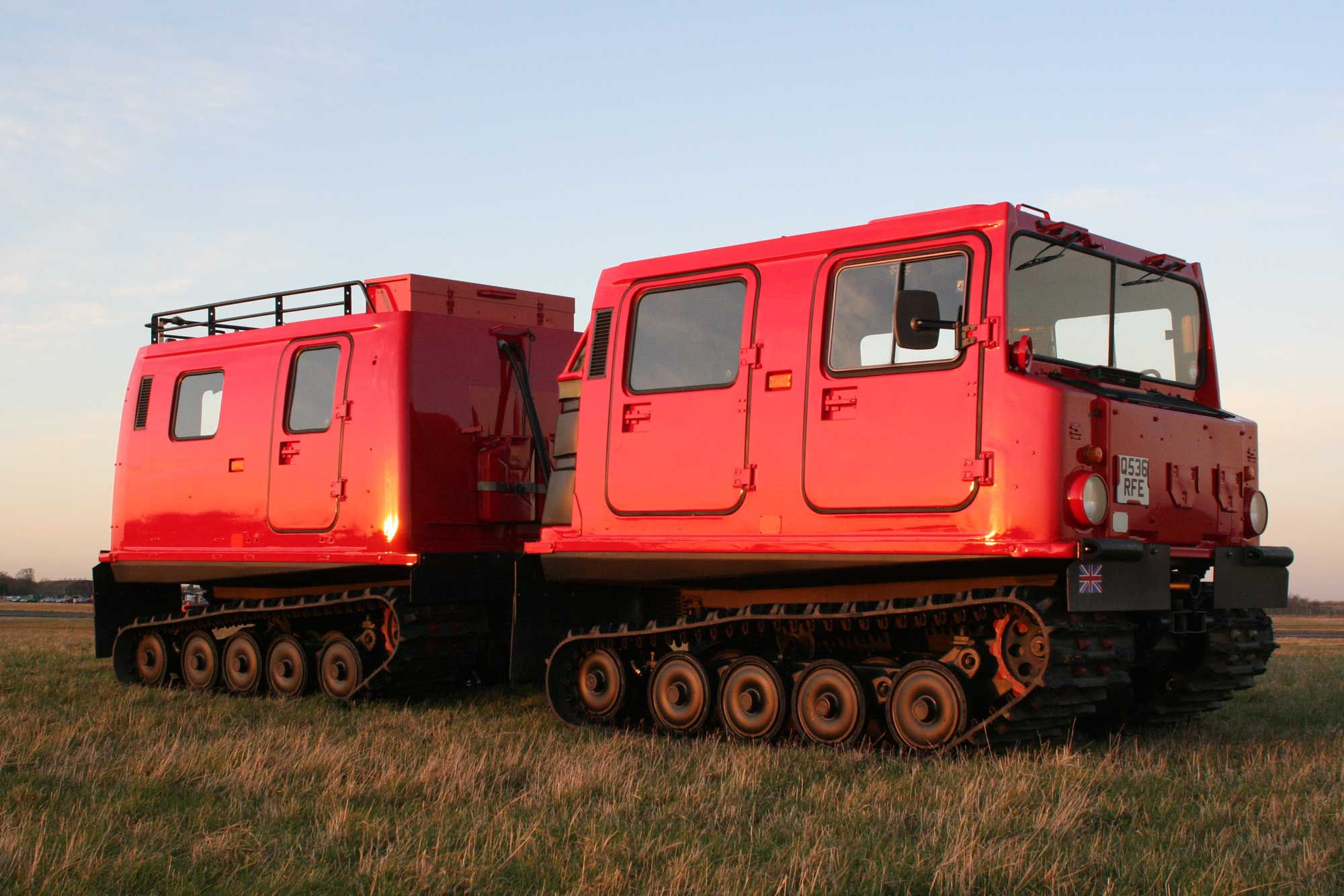 Hägglund Amphibious Tracked Vehicles